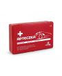 Apteczka Samochodowa pudełko czerwone DIN 13164 PLUS