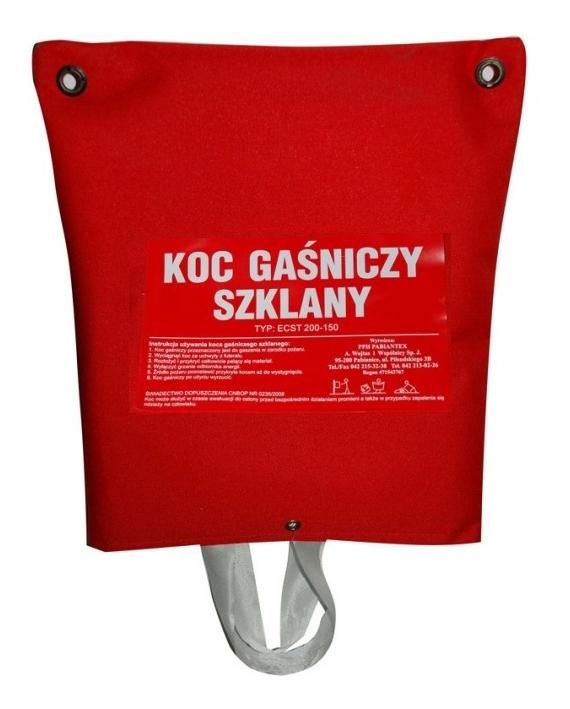 Koc gaśniczy z futerałem ECST 200-150